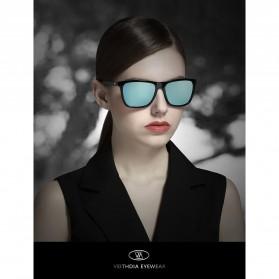 Veithdia Kacamata Retro UV Polarized Sunglasses - 6108 - Yellow - 6