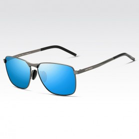 Veithdia Kacamata Vintage UV Polarized Sunglasses - 2462 - Blue - 1