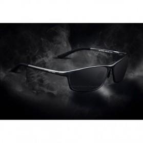 Veithdia Kacamata Designer UV Polarized Sunglasses - 6520 - Black - 3