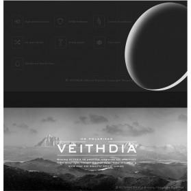 Veithdia Kacamata Designer UV Polarized Sunglasses - 6520 - Black - 4