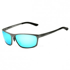 Veithdia Kacamata Designer UV Polarized Sunglasses - 6520 - Blue