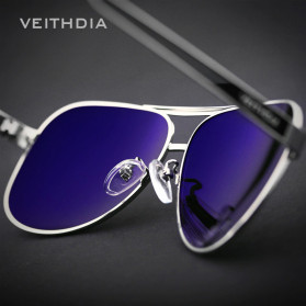 Veithdia Kacamata Photochromic UV Polarized Sunglasses - 3152 - Black - 3