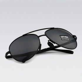 Veithdia Kacamata Photochromic UV Polarized Sunglasses - 1306 - Black