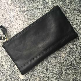 Trend Fashion Pria Terbaru - MISFITS Dompet Clutch Pria Bahan Kulit - 9047 - Black