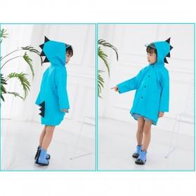 Vilead Jas Hujan Anak Model Dinosaurus Nylon Raincoat Size XXL- RC005 - Yellow - 10