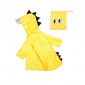 Vilead Jas Hujan Anak Model Dinosaurus Nylon Raincoat Size XXL- RC005 - Yellow - 2