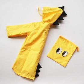 Vilead Jas Hujan Anak Model Dinosaurus Nylon Raincoat Size XXL- RC005 - Yellow - 7