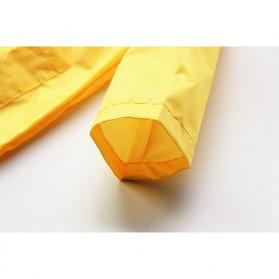 Vilead Jas Hujan Anak Model Dinosaurus Nylon Raincoat Size XXL- RC005 - Yellow - 9