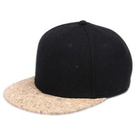 Trend Fashion Pria Terbaru - Wuke Topi Snapback Woodie Visor - LISM-022 - Black
