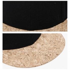 Wuke Topi Snapback Woodie Visor - LISM-022 - Black - 5