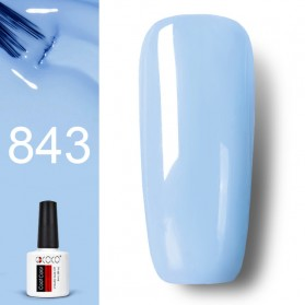 GDCOCO Kutek Kuku Nail Gel Polish Fasy Dry 8ml - No.843 Blue - Blue