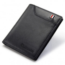 Rhodey Dompet Kulit Pria Business Wallet - PJ-04 - Black