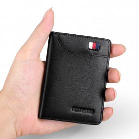 Rhodey Dompet Kulit Pria Business Wallet - PJ-04 - Black - 2