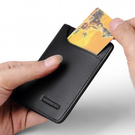 Rhodey Dompet Kulit Pria Business Wallet - PJ-04 - Black - 3