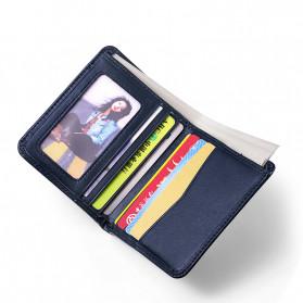 Rhodey Dompet Kulit Pria Business Wallet - PJ-04 - Black - 5