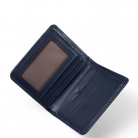 Rhodey Dompet Kulit Pria Business Wallet - PJ-04 - Black - 7