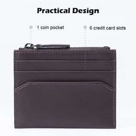 Xiaomi Dompet Kartu 90 Points Simple Card and Coin Wallet - Black - 3