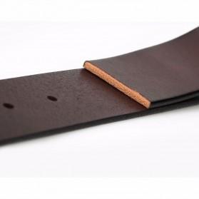 Xiaomi Mijia Qimian Tali Ikat Pinggang Pria Cow Genuine Leather Size L - CS38-17C01 - Brown - 3
