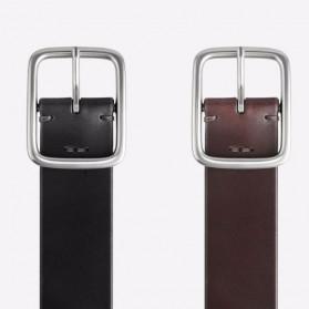 Xiaomi Mijia Qimian Tali Ikat Pinggang Pria Cow Genuine Leather Size L - CS38-17C01 - Brown - 7