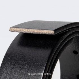 Xiaomi Mijia Qimian Tali Ikat Pinggang Pria Cow Genuine Leather Size XL - B3506 - Black - 3
