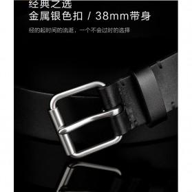 Xiaomi Mijia Qimian Tali Ikat Pinggang Pria Cow Genuine Leather Size XL - B3506 - Black - 6
