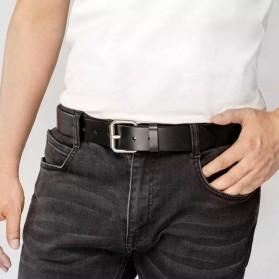 Xiaomi Mijia Qimian Tali Ikat Pinggang Pria Cow Genuine Leather Size XL - B3506 - Black - 8