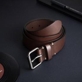 Xiaomi Mijia Qimian Tali Ikat Pinggang Pria Cow Genuine Leather Size XL - B3506 - Brown