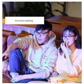 Xiaomi Qukan Roidmi B1 Kacamata Modular Anti Blue Light Eyeglasses - Black - 2