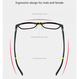 Xiaomi Qukan Roidmi B1 Kacamata Modular Anti Blue Light Eyeglasses - Black - 8