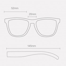 Xiaomi TS TAC Kacamata Polarized UV Sunglasses - STR004 - Black - 2