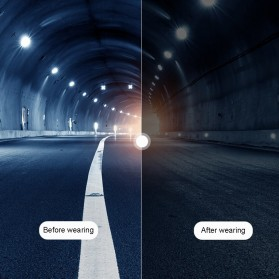 Xiaomi TS TAC Kacamata Polarized UV Sunglasses - STR004 - Black - 5