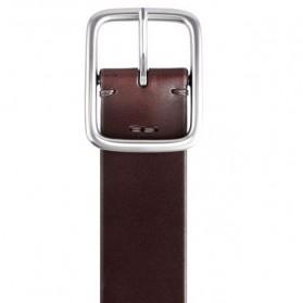 Xiaomi Mijia Qimian Tali Ikat Pinggang Pria Cow Genuine Leather Size XL - CS38-17C01 - Brown