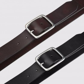 Xiaomi Mijia Qimian Tali Ikat Pinggang Pria Cow Genuine Leather Size XL - CS38-17C01 - Brown - 4