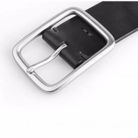 Xiaomi Mijia Qimian Tali Ikat Pinggang Pria Cow Genuine Leather Size XL - CS38-17C01 - Brown - 5