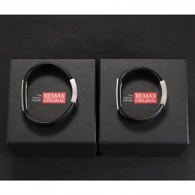 Remax Gelang Kulit - SH-01 - Black - 5