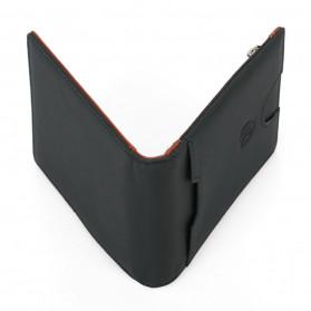 BUBM Dompet Anti RFID Bahan Kulit Slim Design - YP-211/212 - Black - 7
