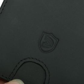 BUBM Dompet Anti RFID Bahan Kulit Slim Design - YP-211/212 - Black - 9