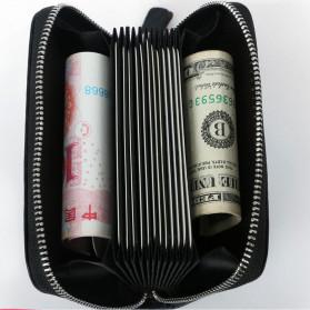 BUBM Dompet Kartu Anti RFID Bahan Kulit - TQ-310 - Black - 5
