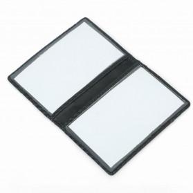 BUBM Dompet Kartu Anti RFID Bahan Kulit Slim Design - TQ-303 - Black - 6
