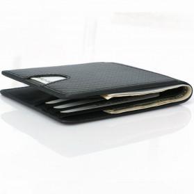 BUBM Dompet Kartu Anti RFID Bahan Kulit Slim Design - TQ-304 - Black - 6