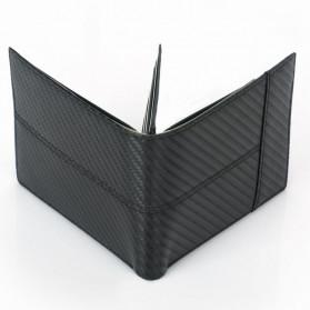 BUBM Dompet Kartu Anti RFID Bahan Kulit Slim Design - TQ-308 - Black - 10
