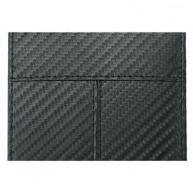 BUBM Dompet Kartu Anti RFID Bahan Kulit Slim Design - TQ-308 - Black - 8