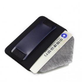 BUBM Card Holder iRing Stand Holder Smartpone - YZ-415 - Black - 4