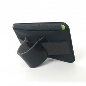 BUBM Card Holder iRing Stand Holder Smartpone - YZ-415 - Black - 8