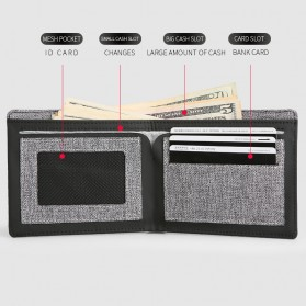 Mark Ryden Dompet Pria Casual - MR6891 - Gray - 2