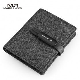 Mark Ryden Dompet Pria Casual - MR6944 - Black