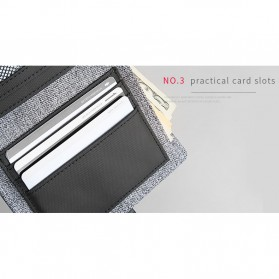 Mark Ryden Dompet Pria Casual - MR6944 - Gray - 8