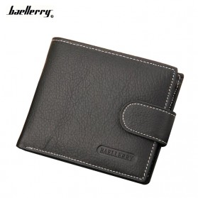 Baellerry Dompet Pria Model Short - ZXC-D033 - Black