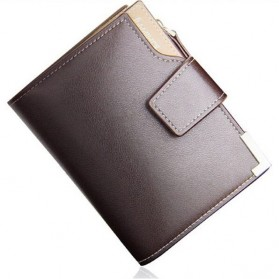 Baellerry Dompet Pria Model Short Double Layer - D1282 - Brown