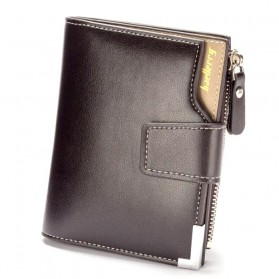 Baellerry Dompet Pria Model Short Double Layer - D1282 - Brown - 2